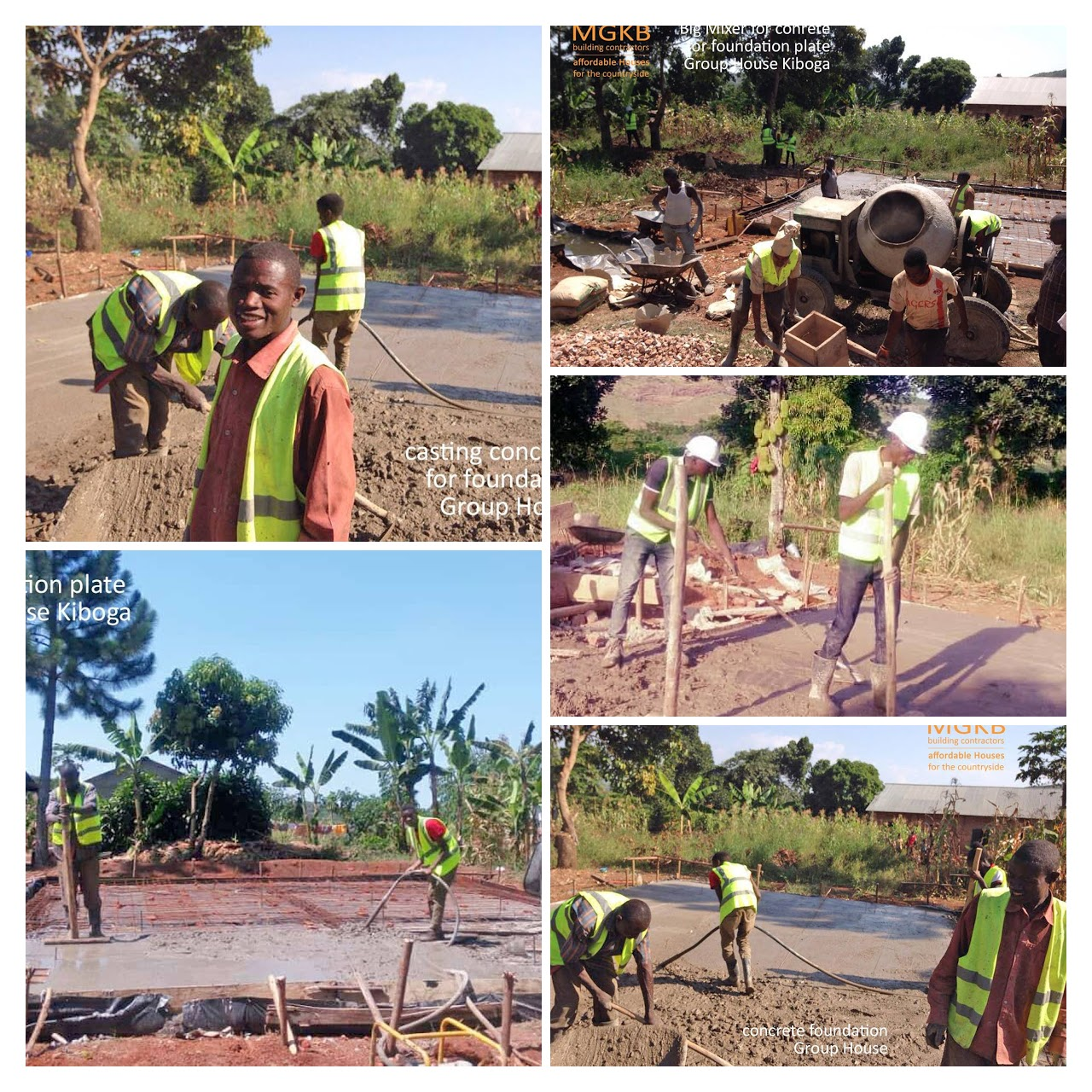 Work Begins on the New Orphanage