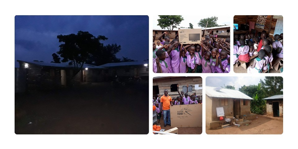 Solar Power for the School and Orphanage