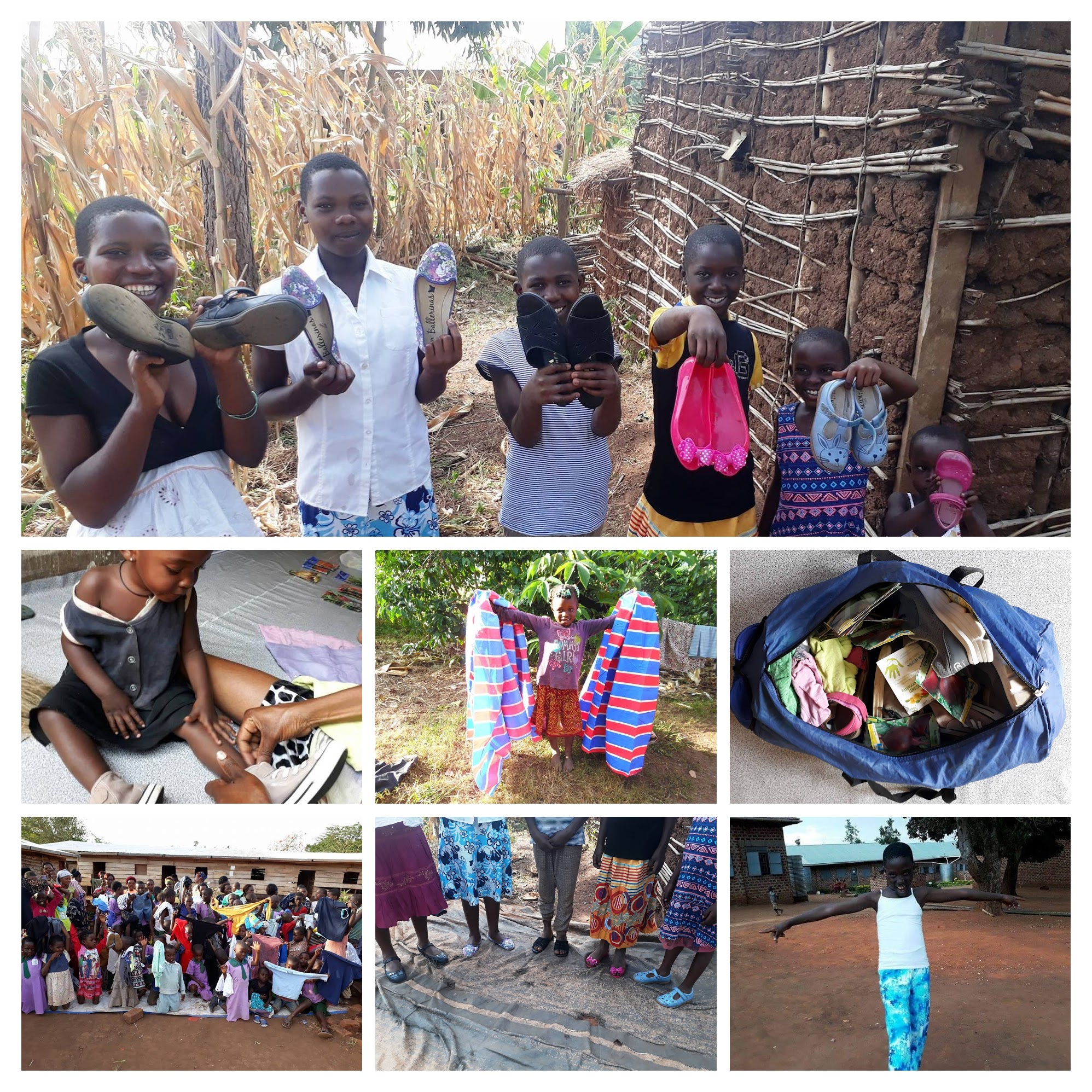 Clothing Donations for the Community Children