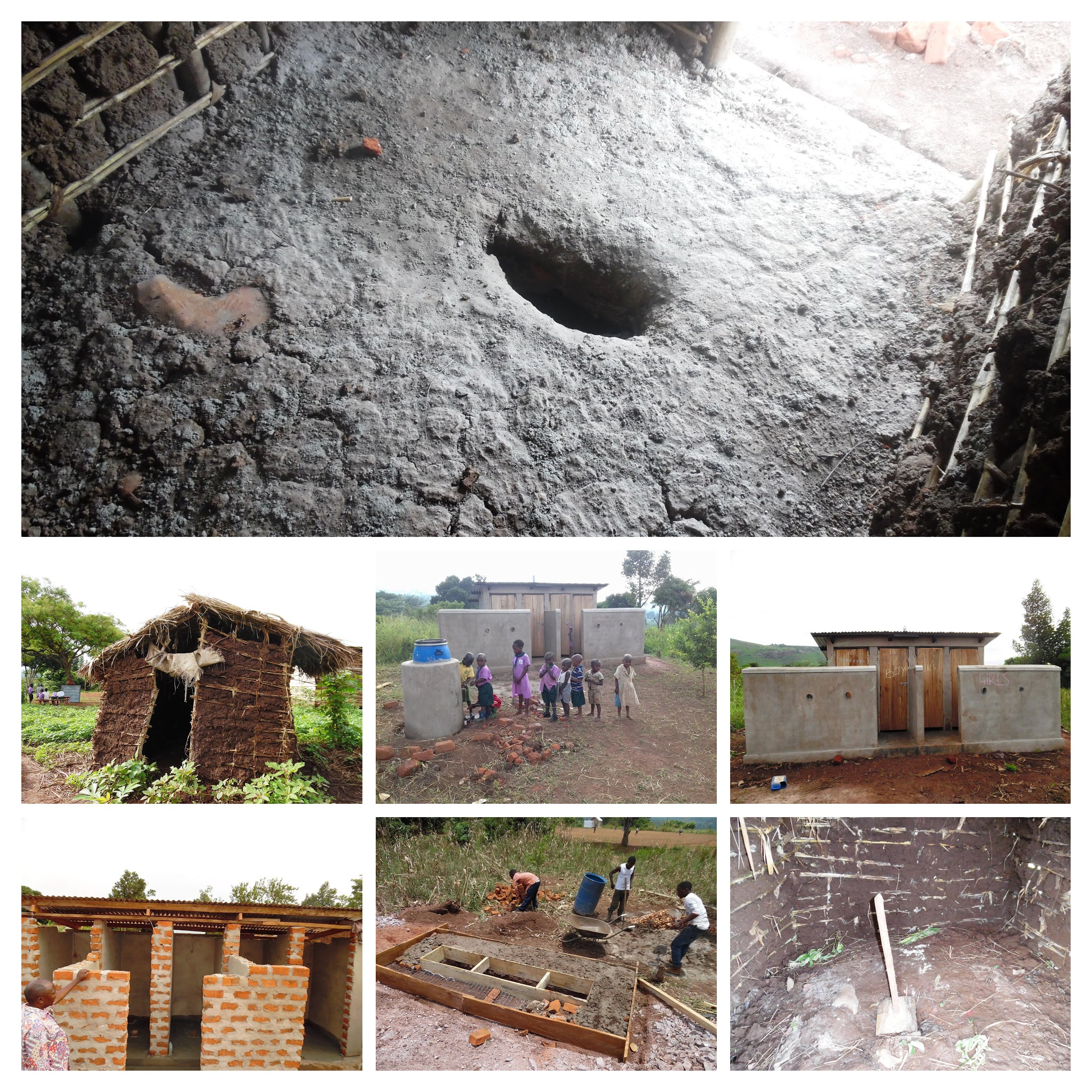 New Toilet Facility for the School