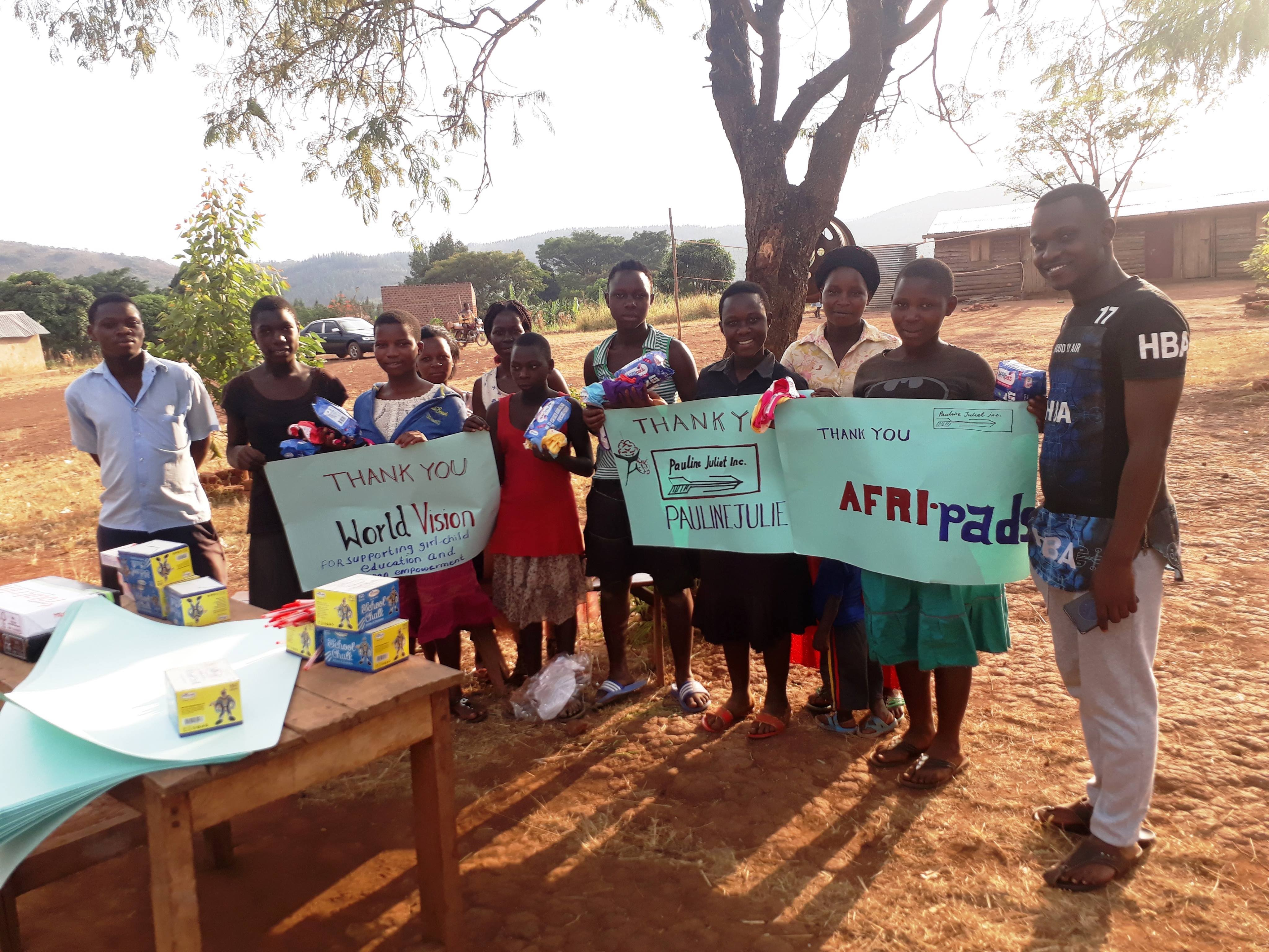 Visit to Starlight Family School by Pauline Juliet Charity Organisation