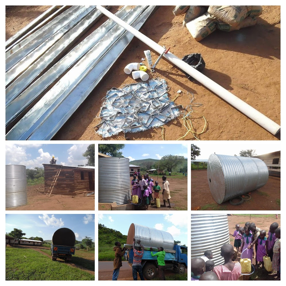 Rainwater Collection System for the School