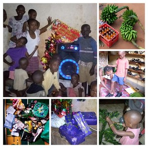 Christmas Party for children at the orphanage
