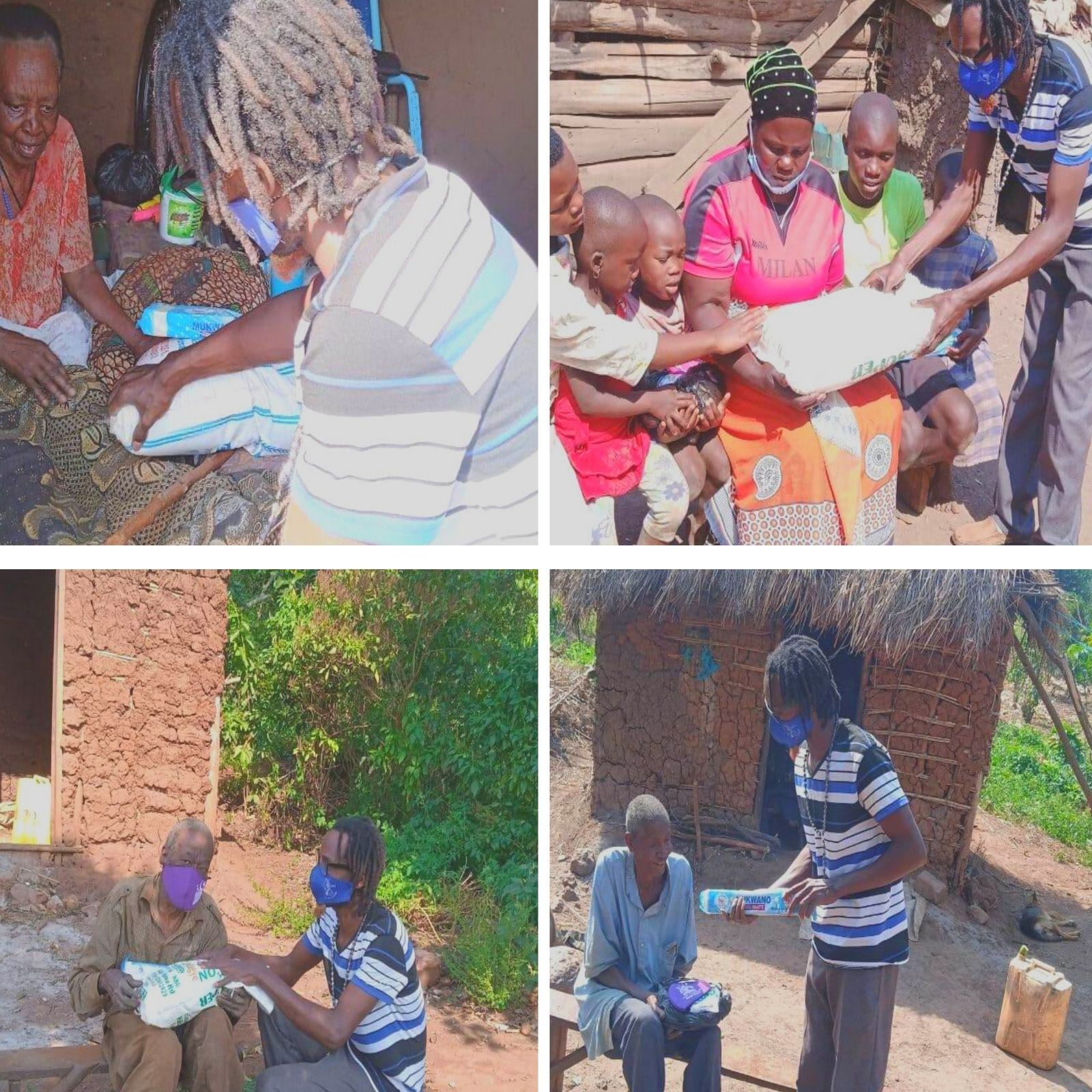 Home delivery to beneficiaries who were unable to collect
